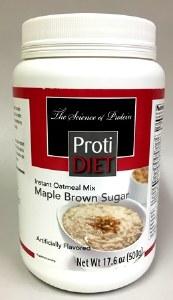 PD Jar Oatmeal Maple Brown Sug