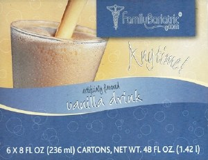 P15 Anytime! Vanilla Drink