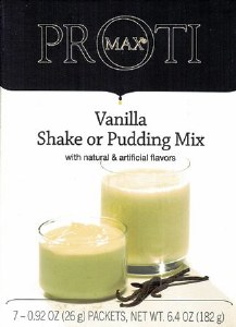 Proti Max Van Shake Pudding