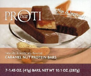 Proti Bar Caramel Nut Bars