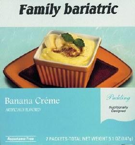 Pudding Banana Crème