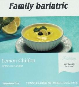 Pudding Lemon Chiffon Instant