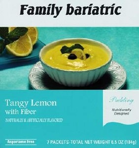 Pudding Tangy Lemon /Fiber