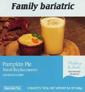Pumpkin Pie Meal Replacement