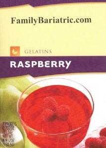 HW Gelatin Raspberry