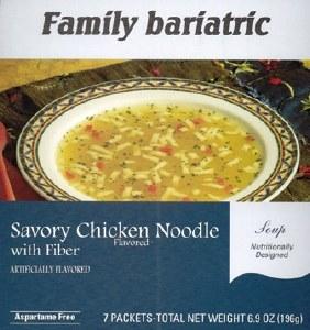 Soup Savory Chk Noodle AF