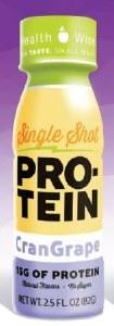 Single Shot PRO-TEIN CranGrape