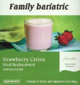 Smoothie Strawberry Creme