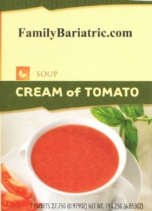 Soup Cream of Tomato HW