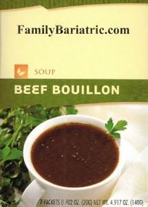 Soup Beef Bouillon HW
