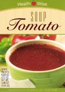 Soup Tomato Healthwise