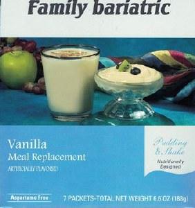 Vanilla Pudding & Shake A.Free