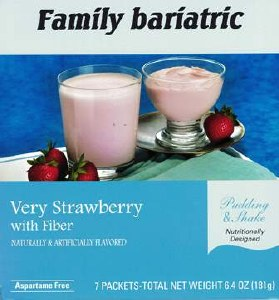 Very Strawberry Pudding Shake