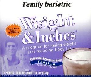 Weight & Inches Vanilla Shake