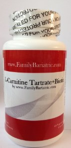 Carnitine Tartrate and Biotin