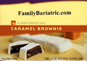 BAR Caramel Brownie