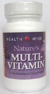 Nature's Multi-Vitamin 30 Tab