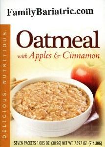 Oatmeal Apples and Cinnamon HW
