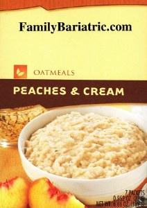 Oatmeal Peaches & Cream HW