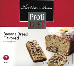 PD Bar Banana Bread