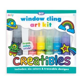 Creatibles window cling kit