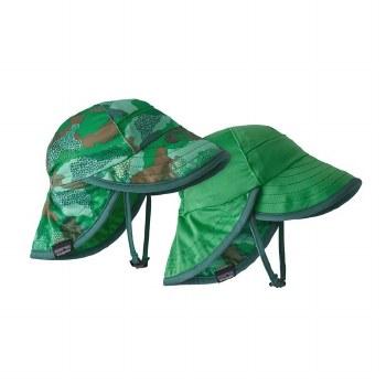 Capilene Hat Green Camo 3m