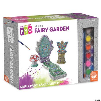 Paint Your Own Stone Fairy Garden