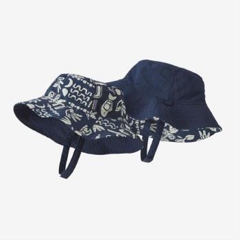 Baby Sun Bucket Hat Stone 6m