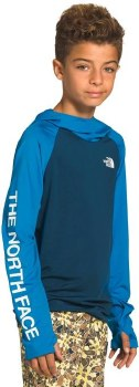 Class V Water Hoodie Blue Medium
