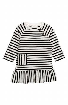 Knit Dress Rewind Stripe 7