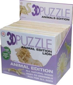 3D Puzzle Animals