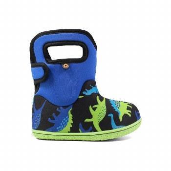 Baby Bogs Dino Blue 5T
