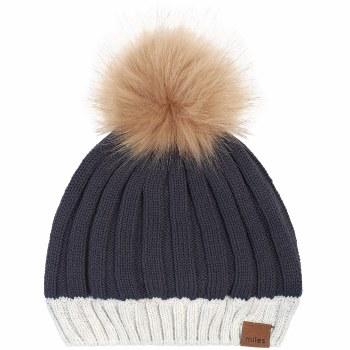 Pom Pom Hat Alpine Grey 5/7Y