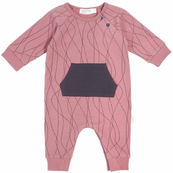 Knit Playsuit Alpine Pink 12m