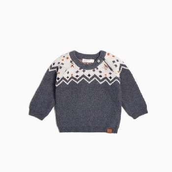 Knit Holiday Sweater 6/7Y