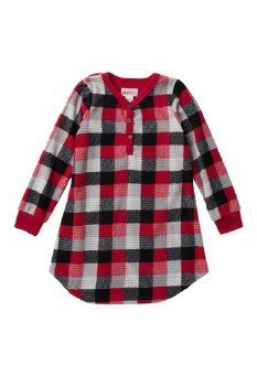 Nightgown Red Plaid 3
