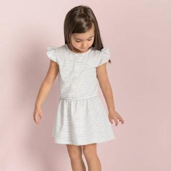 Candy Stripe Dress 4T