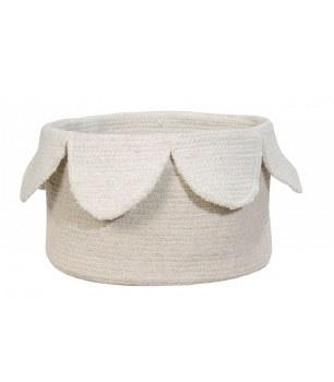 Basket Petals Natural - Ivory