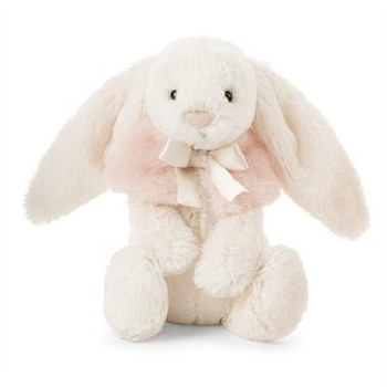 Bashful Cream Snow Bunny Small