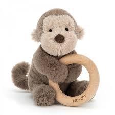 Shooshu Monkey Ring Toy