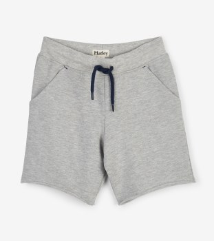 Grey Terry Shorts 2