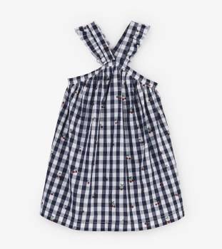 Cherries Criss Cross Dress 4T
