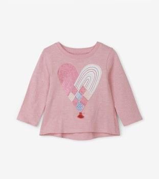 Baby Tee Woven Heart 2T
