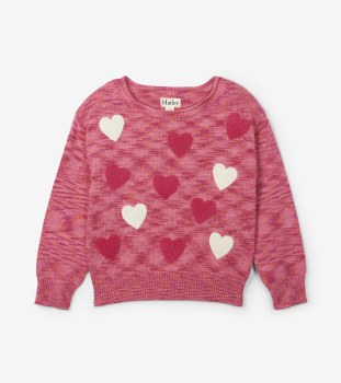 Cute Hearts Sweater 4