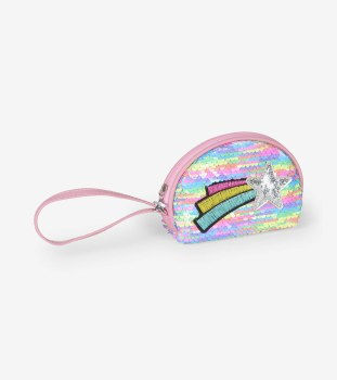 Rainbow Star Mini Change Purse