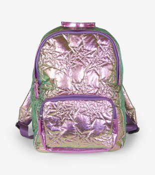Hologram Stars Quilted Backpack