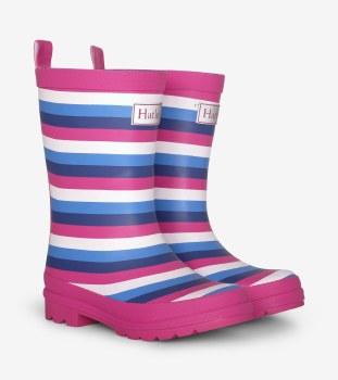Rain Boots Summer Stripe 6T