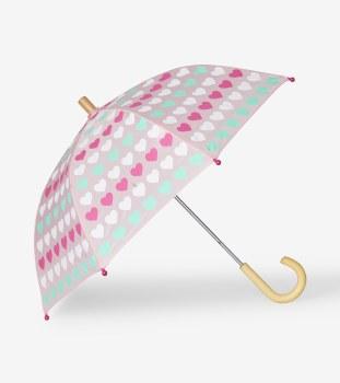 Umbrella Multicolor Hearts