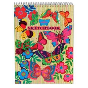 Sketchbook Floresent Butterfli