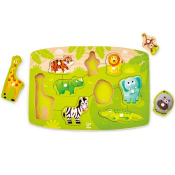 Jungle Animal Peg Puzzle